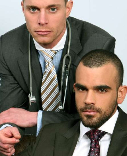 Doctor Stevens Examines Damien Crosse