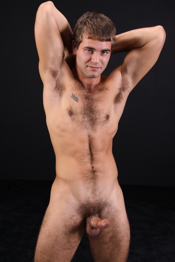 Hand some hairy men gay porn