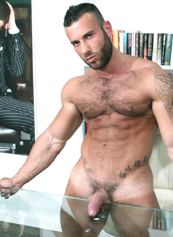 Geous And Hairy Muscle Stud Gianluigi