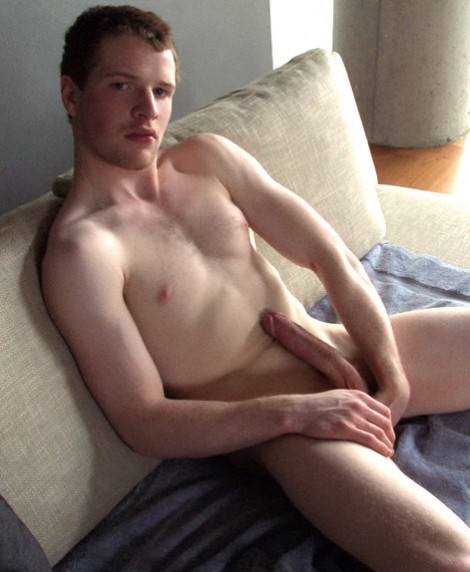 Couch Jerk with Handsome Jock Danny Watch The Video