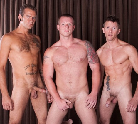 Hot Group Fuck on Bareback