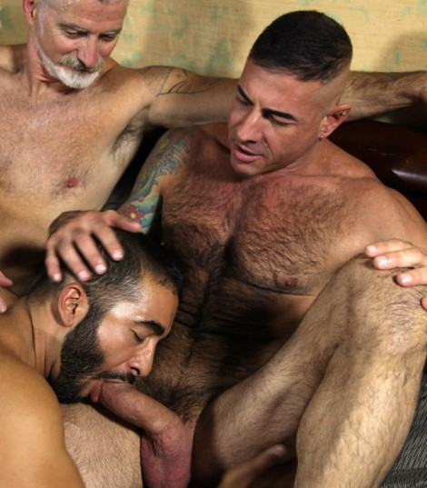 Muscle Dads Hot Group Fuck