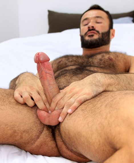 Furry Handsome Stud Wilfred Jerks off