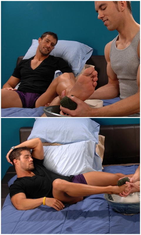 Cody Cummings: Cody's Sexy Foot Fetish Session with Dylan