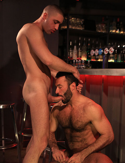 UK Naked Men: Wilfried & Brice Fuck After Working Hours