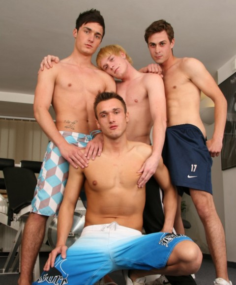 Bare Back Twink: Barebacking Young Boys' Fuck Fest