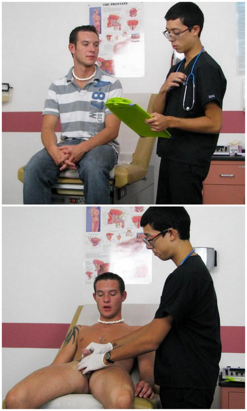College Boy Physicals: Handing Eli to the Clinic Intern