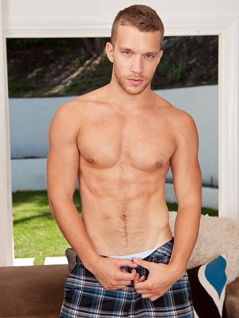 Randy Blue: Jake Oozes With Husky Moans & Sizzling Drips