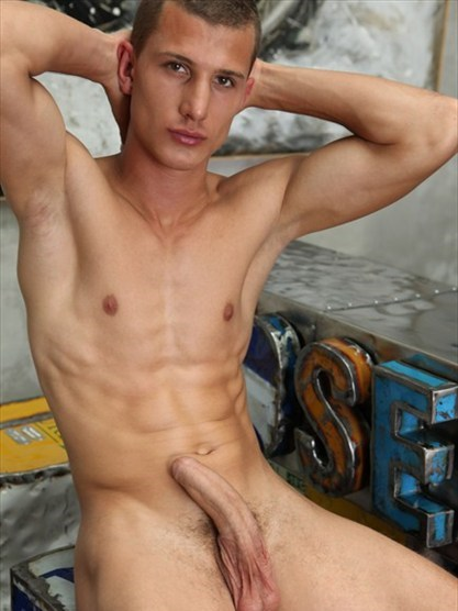 Bel Ami: Denis Carter's Thick Cocked Pin-Up