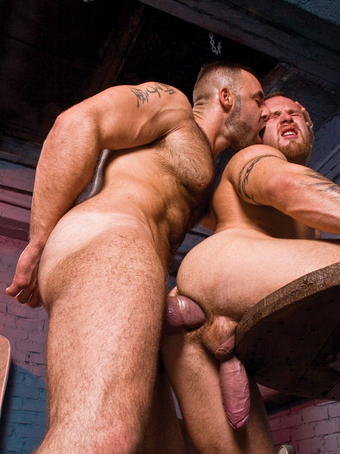 Raging Stallion: Stud Fucker Bruno Drills Ben's Ass Far Deep