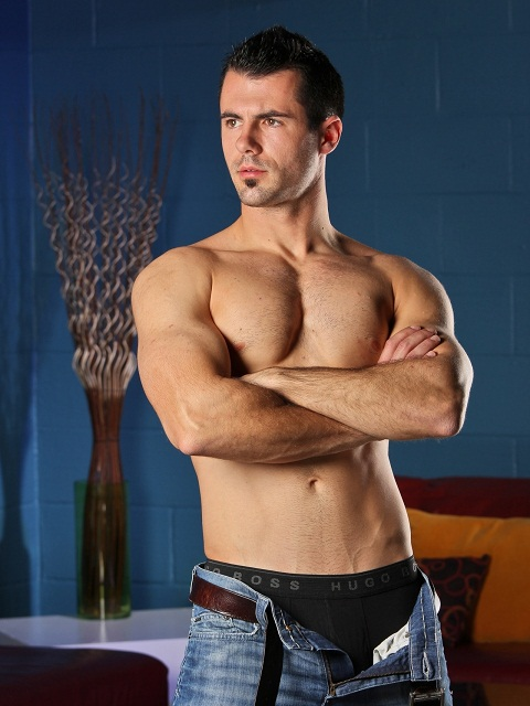 Next Door Male: Handsome Muscle Stud Brock Cooper's Porn Debut