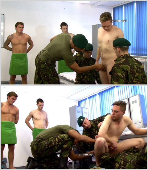 CMNM: Stubborn Private Joel Humiliated at the Academy