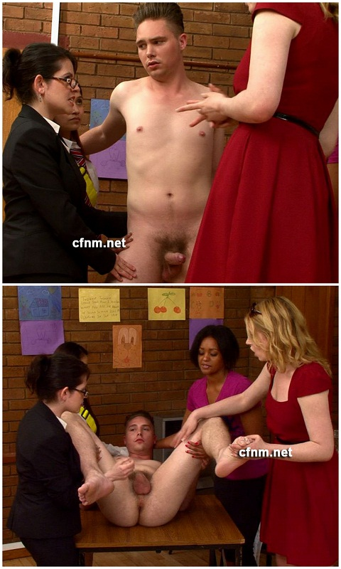 CFNM: Joel's Shameful Kinky Minutes with the Female Faculty