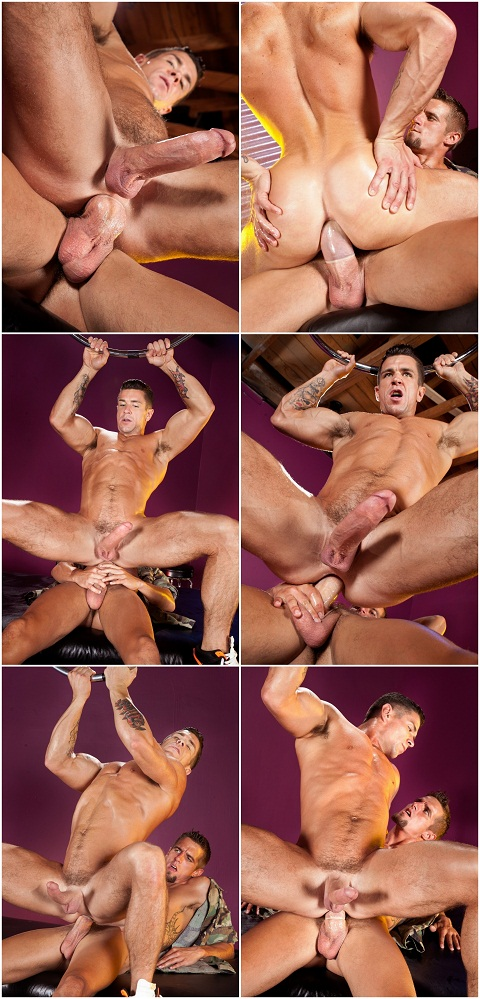 Raging Stallion: Hung Max & Trenton in a Hot Muscle Sex Action