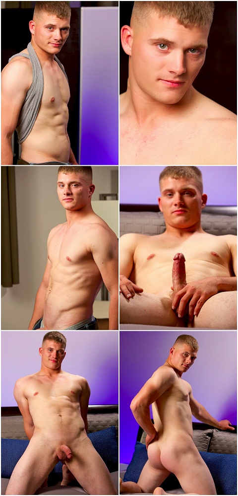 Active Duty: Newbie Troy Bares His Muscled Sexy Body
