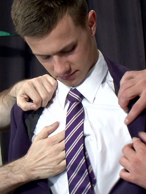 Groping Hands: Disgusting Pervy Men Throb Billys Silky Cock