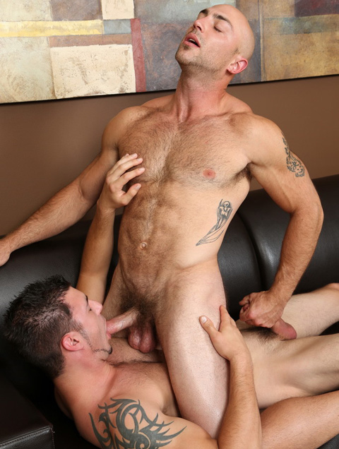 Chaosmen: Tatum & Jet in Hot Bareback Couch Actions