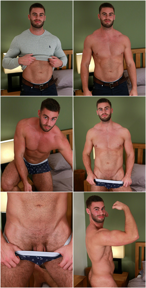 Muscular & Hairy Straight Personal Trainer Tom